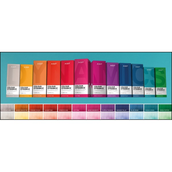 COLOR DYNAMICS semi-permanent color, 150ml