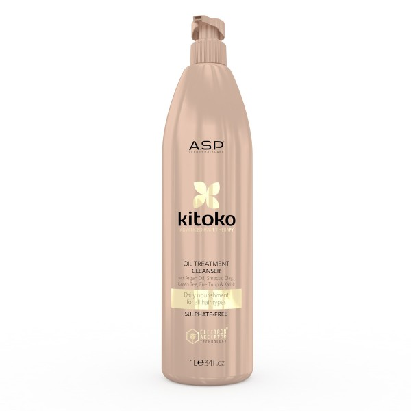 Kitoko Oil Treatment Hydrating & Regenerating Cleanser 1000 ml