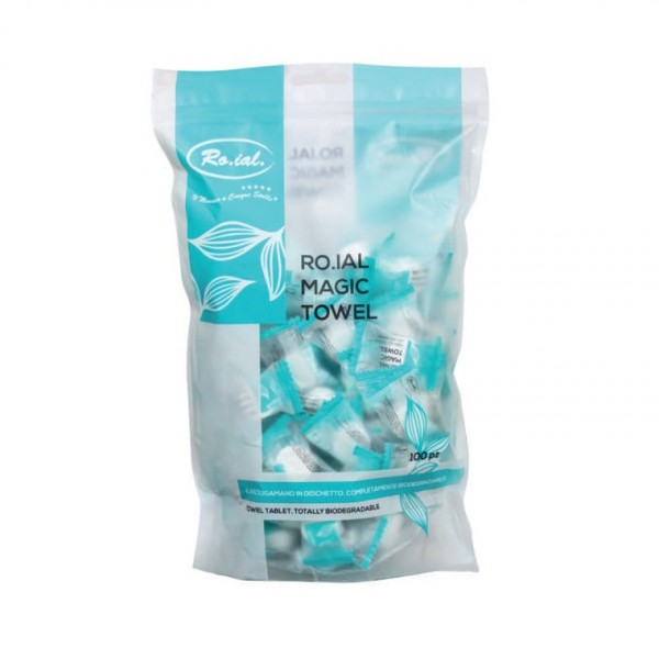 Towel tablets Magic Towels, 100 pcs.